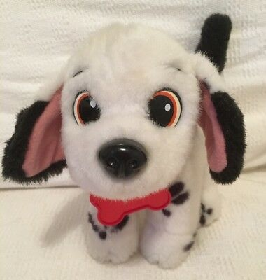 Disney Dipstick Puppy Dog 101 Dalmatians Plush Cuddly Toy Wagging Tail VGC
