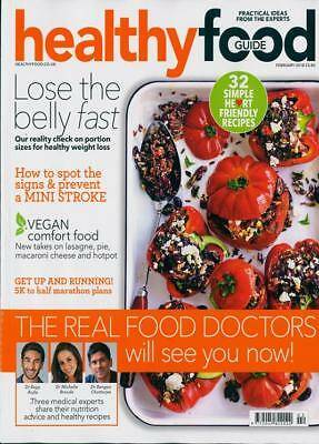 Healthy Food Guide Magazine Issue February 2018 ~ New ~
