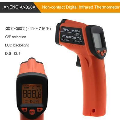 AN320A Non-Contact LCD IR Laser Infrared Digital Temperature Thermometer Gun