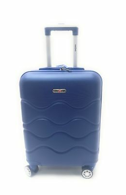 Trolley Bagaglio a Mano Ryanair CM.55x40x20 in ABS 8 Ruote Clacson
