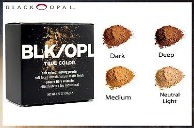 Black Opal True Color Soft Velvet Deluxe Finishing Powder - Four Shades