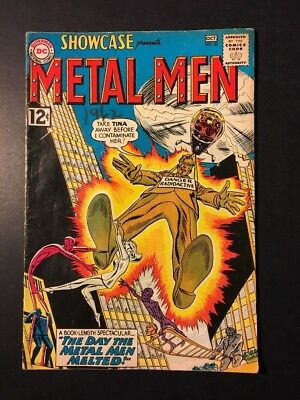 DC Showcase #40, presents Metal Men, (Sep-Oct 1962), 4th Appearance!