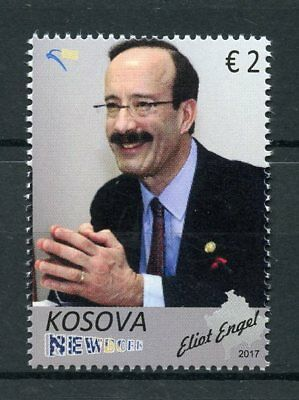 Kosovo 2017 MNH Eliot Engel US Representative 1v Set Politicians Stamps