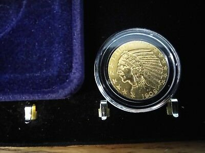 1909--$5.00 Gold Indian in dot