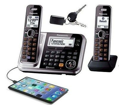 PANASONIC KX-TG7892 Cordless Phone Home / Office 2 handset KEY FINDER BLUETOOTH