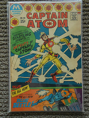 Captain Atom No.83 from Modern Comics *Rare* 1977 reprint of 1966 comic