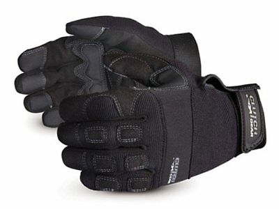 Superior MXGBL Clutch Gear Leather Mechanics Glove, Work, Small, Black Pack of 1