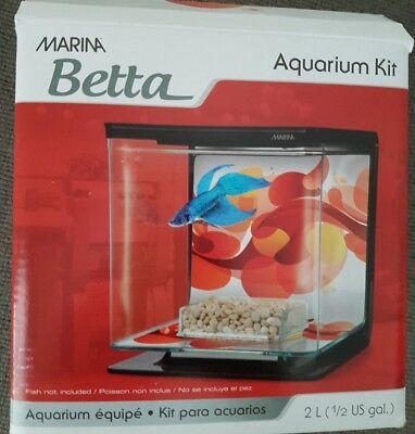 Aquarium Fish Tank Small for Betta Fighting Fish Tropical