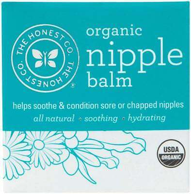 The Honest Company Organic Breast Nipple Balm - Unscented - Unflavored - 1.8 oz