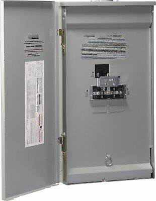 OpenBox Reliance Controls Corporation TWB2006DR Outdoor Transfer Panel