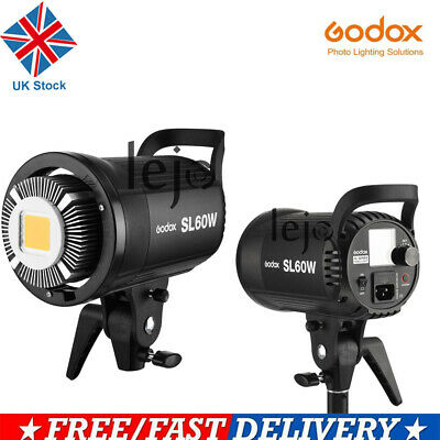 UK Godox SL 60W 5600K Studio Photography LED Video Light  Lightiing f DV Camera
