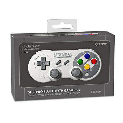 8Bitdo SF30 SN30 Pro Bluetooth Gamepad Controller for Switch Windows Mac Android