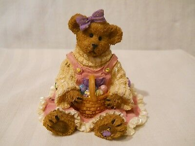 Boyds Bears Resin  Easter  Edie Eggbeary Colors of Easter  4031614