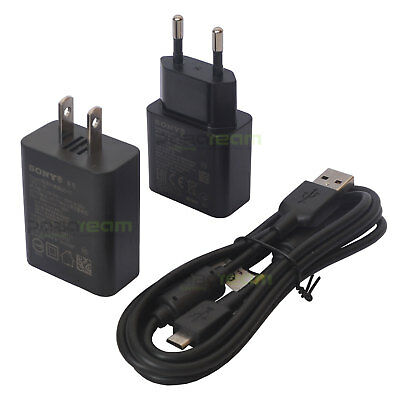 Sony UCH12 Fast Charger EC700 MicroUSB Cable for Sony Xperia XA X M5 C4 E Z3