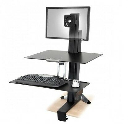 Ergotron WorkFit-S, Single HD with Worksurface