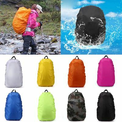 Waterproof Dust Rain Cover For Travel Camping Backpack Rucksack Bag 5 Sizes New