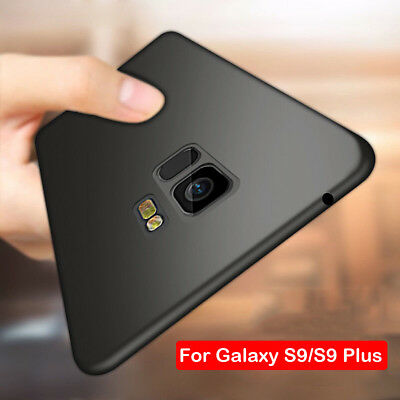 Luxury Shockproof Matte Silicone Soft TPU Case Cover For Samsung Galaxy S9 Plus