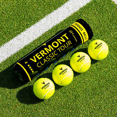 Vermont Classic Tennis Balls - ITF Approved - Durable Ball [Net World Sports]