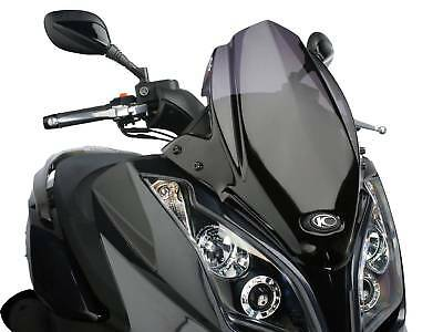 Windschild Puig V-Tech Sport dark smoke für Kymco Downtown 125i, 300i ABS 09-14