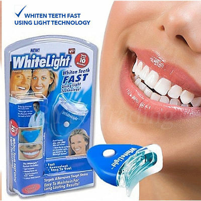 ✬Whitelight Teeth Whitening System ✬ LED Tooth Dental Kit Gel Bleaching Strips.