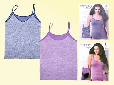 4128331a99 Seamless Spaghetti Top Top Tank Top Vest Size L 44 46 Color Selectable New