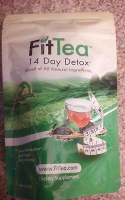 14 Day Detox, Fit Tea, 14 Day Detox new sealed free fast shipping