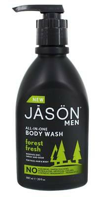 JASON Natural Products - Men's All-In-One Body Wash Forest Fresh - 30 fl. oz.