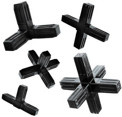 25x25mm HEAVY DUTY BOX SECTION CONNECTORS