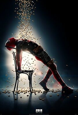 "Deadpool 2 (2018) Movie Silk Fabric Poster 11""x17"" 24""x36"""