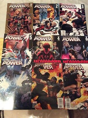 Ultimate Power #1-9 Complete Set (7.5-9.2)