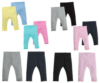 Baby Girls Leggings Cotton Rich with Elastane 0-3 Months up to 18-24 months