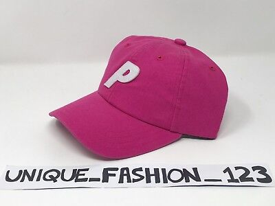 8afd0306cdeb Palace Skateboards Ss16 6 Panel P Hat Cap Hot Pink Bright Magenta Curved  Peak