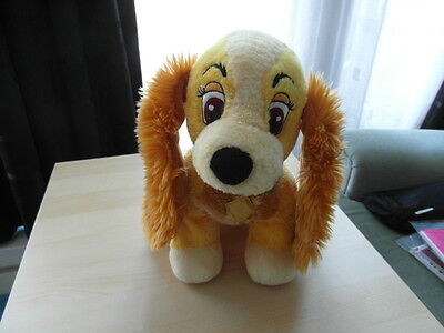 Disney Store Exclusive - Lady Character Soft Toy - Lady And The Tramp