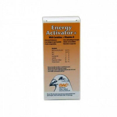 Pigeon Product - Energy activator 100 ml by DAC - for Racing Pigeons