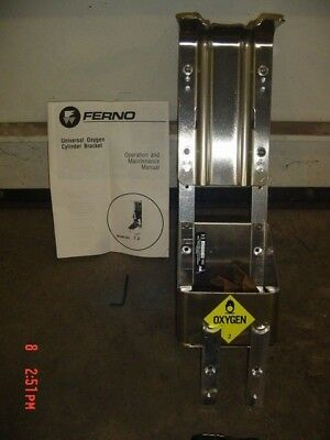 Ferno 521 Oxygen Bottle Holder Cylinder Bracket Universal