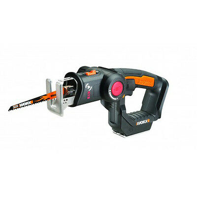 WX550L.9 WORX 20V Axis Cordless Reciprocating & Jig Saw (Tool Only)