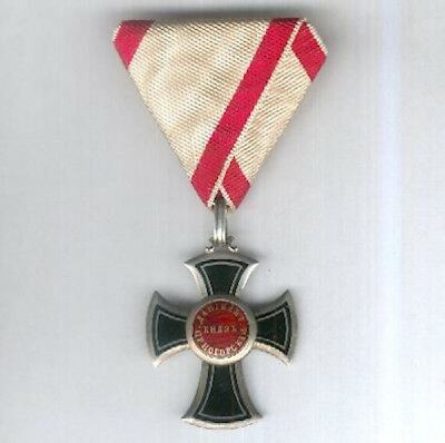 MONTENEGRO. Order of Danilo I for the Independence of Montenegro, 1861-73 issue