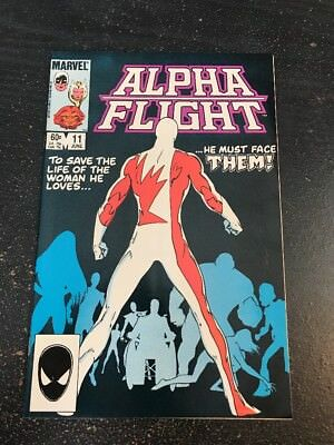 Alpha Flight#11 Incredible Condition 9.2(1984) Sasquatch Origin, Byrne Art!!