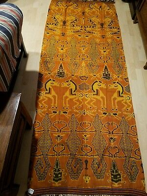 Rare Antique, with unique Sumba Hinggi Ikat