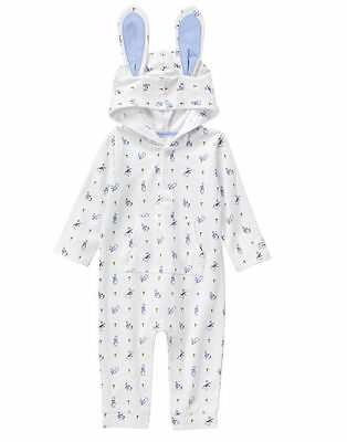 NWT Gymboree Peter Rabbit Rabbit Romper 6 12 18 24mo Baby Boy