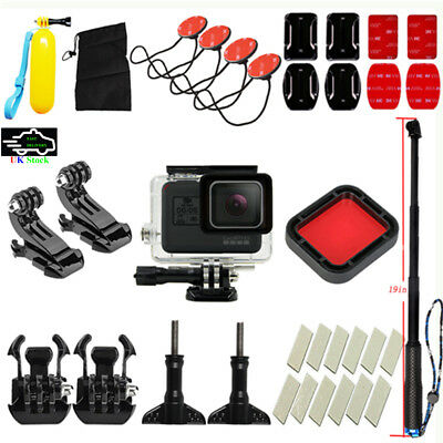 Accessories Kit Diving Sports Camera Selfie Stick Surfing Set for Gopro Hero 5