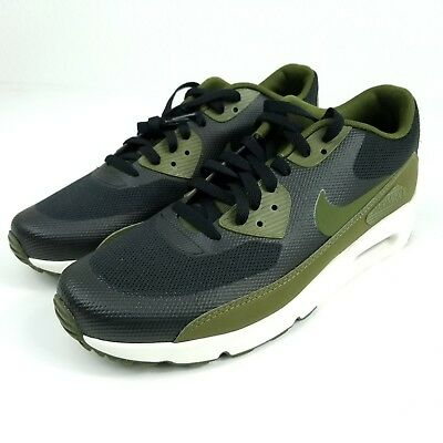 NIKE Air Max 90 Ultra 2.0 Essential Mens Sz 10.5 Shoes Green 875695 004 B  Stock c50c5cc4fd77
