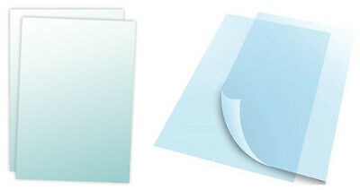"""22"""" x 28"""" Inch Clear Overlay Lens for Bulletin Holder Poster Sign Stand 1 Pair"""