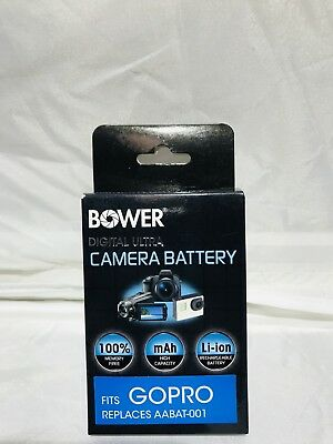 Bower Replacement Battery for GoPro5-Black Replaces AABAT-001