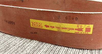 NOS Vintage OEM 4 X 105.5 Minneapolis Moline flat continuous belt