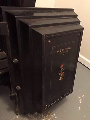 ANTIQUE FLOOR SAFE by HALL'S SAFE & LOCK CO. CINCINNATI.O. U.S.A.  (PICKUP ONLY)