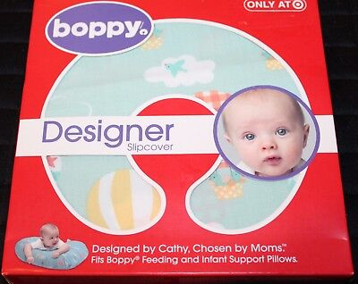 The Original Boppy Designer Slip Cover Hot Air Balloons Babies TARGET EXCLUSIVE