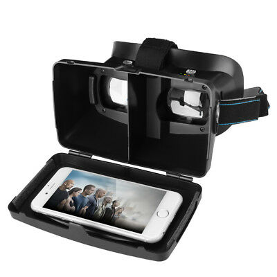 Virtual Reality VR Headset 3D Video Glasses Google Cardboard for Android IOS