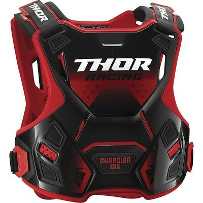 NEW Thor Guardian MX Red Kids Motocross Dirt Bike Body Armour Size S/M