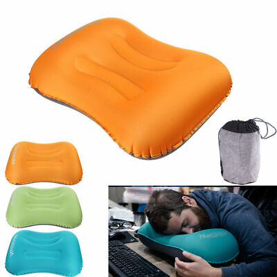 Ultralight Portable Air Inflatable Outdoor Travel Camping Soft Pillow Neck Rest